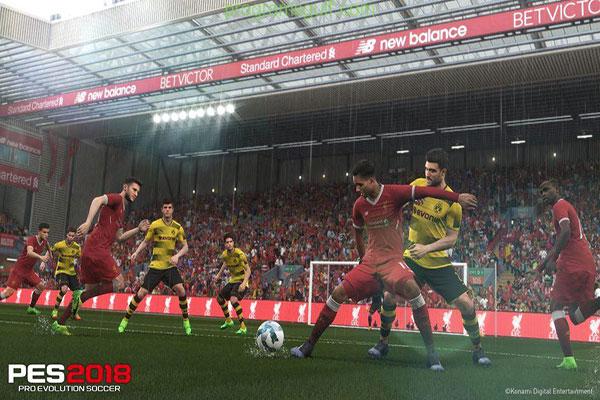 تحميل لعبة بيس 2018 للكمبيوتر PES For PC لعبة كرة القدم الأشهر في العالم PES 2018