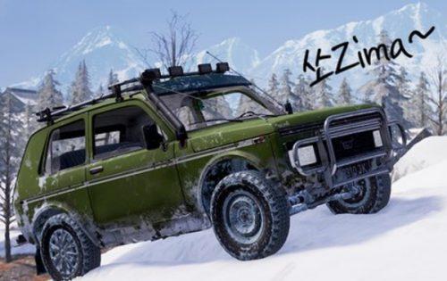 سيارة Zima لخريطة ڤيكندي