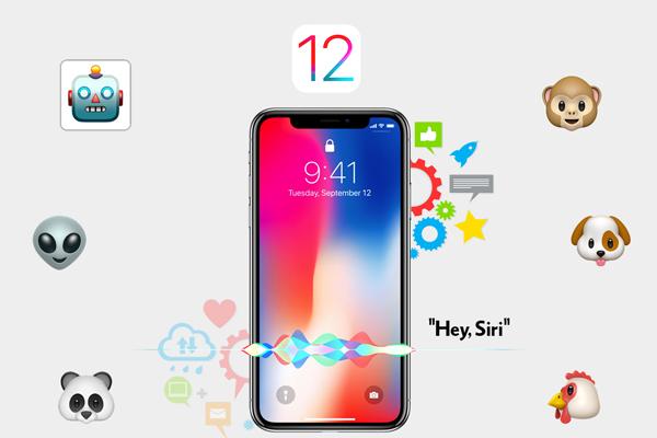 مزايا تحديث iOS 12 للايفون والايباد