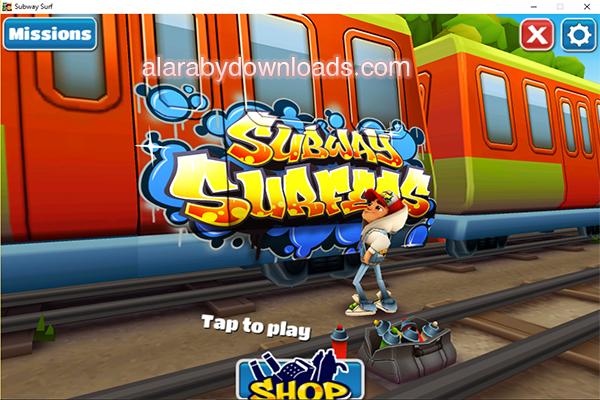 تنزيل لعبة صب واي للكمبيوتر كاملة مجانا سابوي Subway surfers الاصدار القديم