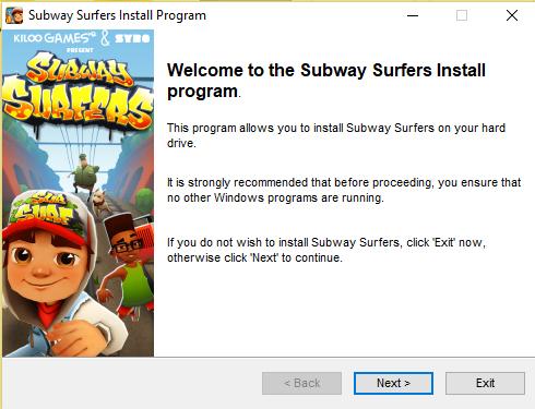 تحميل لعبة صب واي للكمبيوتر كاملة مجانا سابوي Subway surfers