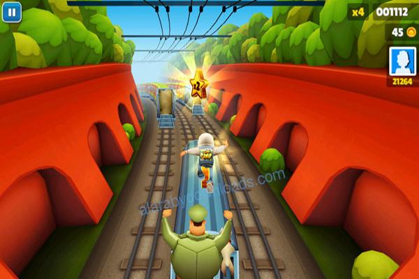 تحميل لعبة سابوي Subway Surfers لويندوز 10برابط مباشر