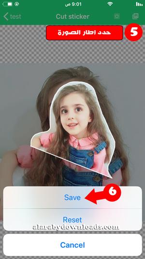 تصميم الصورة الشخصية كملصقات واتساب للايفون - تصميم ملصقات واتس اب للايفون مع خلفية شفافة للايفون
