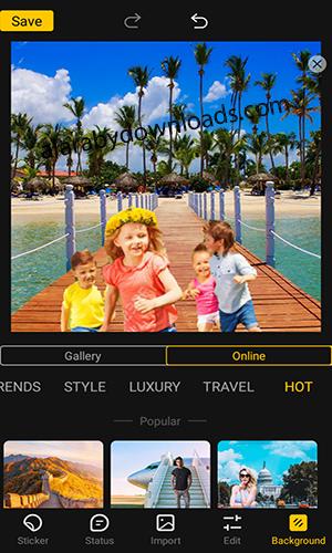 تحميل برنامج تغيير خلفيات الصور بنقرة واحدة بدون فوتوشوب Cut Out