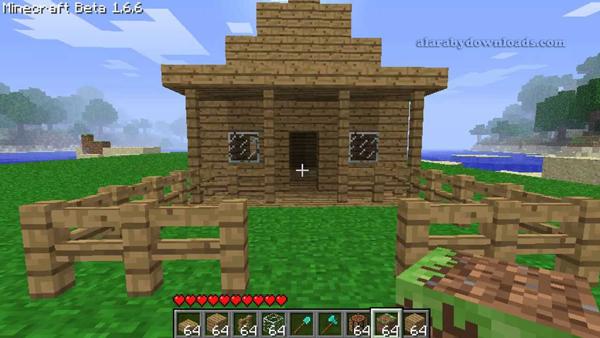 المنزل الأول لك في ماين كرافت