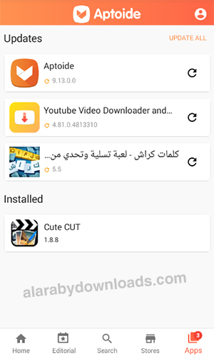 تحميل برنامج الابتويدالعربي للاندرويد متجر Aptoide برامج اندرويد Apk مجانية أحدث اصدار 2020