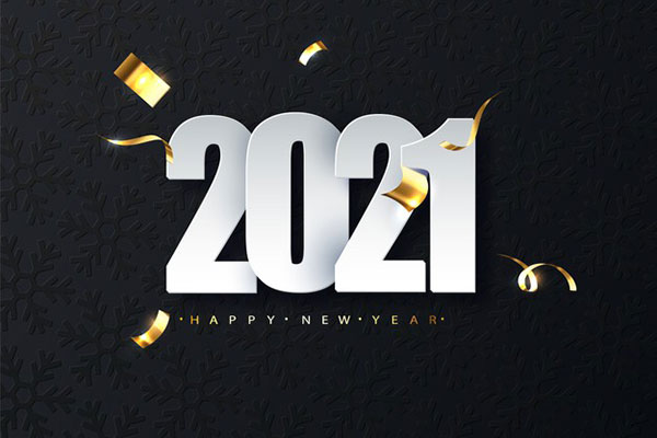 أجمل بطاقات تهنئة برأس السنة الميلادية 2021 خلفيات وصور السنة الميلادية الجديدة 2021