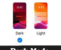 طريقة تفعيل الوضع الليلي للايفون 2020 تفعيل Dark Mode للايفون يدويا