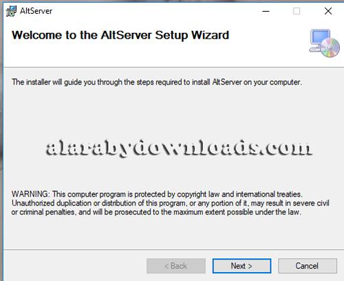 خطوات تثبيت متجر altserver على الكمبيوتر
