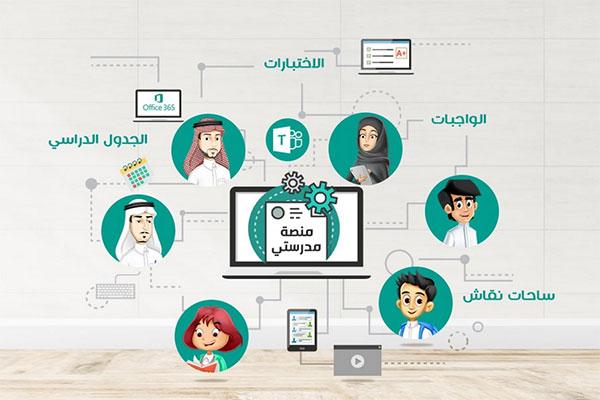 منصة مدرستي مايكروسوفت تيمز السعودية الجديد Backtoschool