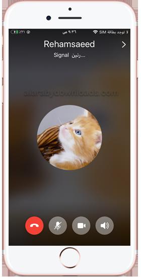 مكالمات صوتية عبر تطبيق سيغنال للايفون ، تحميل تطبيق سيجنال للايفون
