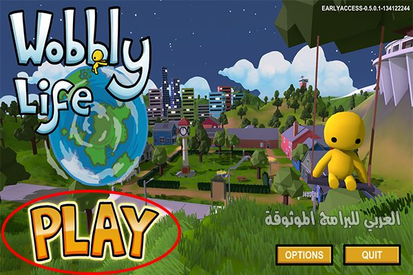 تحميل لعبة ووبلي لايف للكمبيوتر مجانا التحديث الجديد