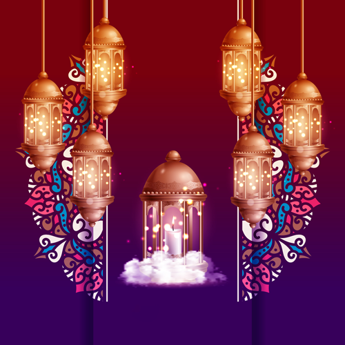 فوانيس رمضان بالخرز