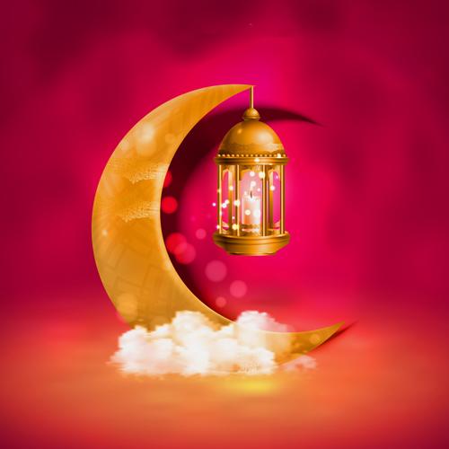 فانوس رمضان للطباعة png