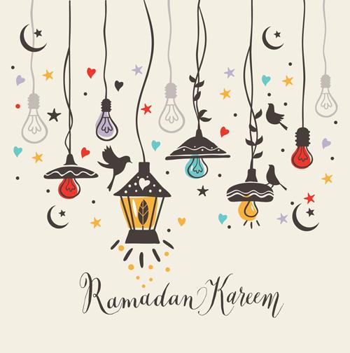 فوانيس رمضان كرتون
