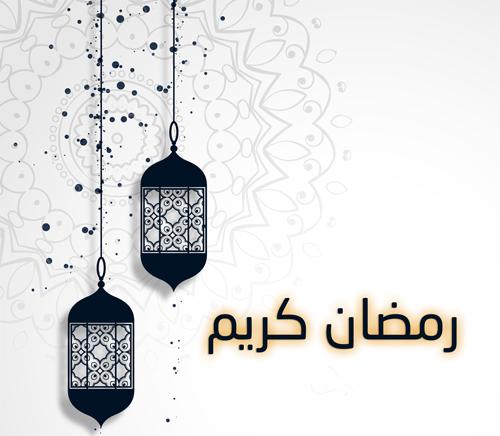 فوانيس رمضان كريم خشبية