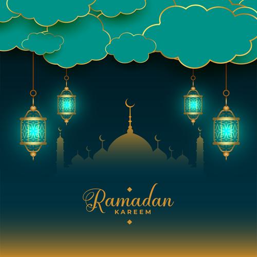 فوانيس رمضان مضيئة
