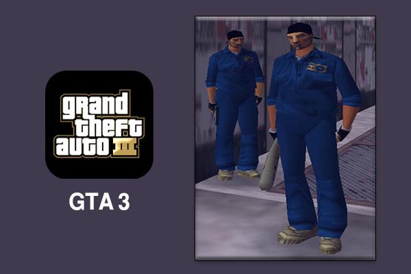 اشهر العصابات في لعبة Grand Theft Auto 3