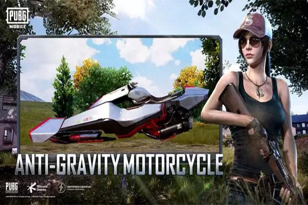الدراجة النارية الحديثة في pubg mobile new update اخر اصدار
