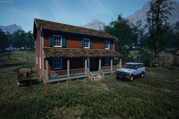 اعادة بناء المزرعة الكبيرة في Ranch Simulator مجانا الاصلية اخر تحديث